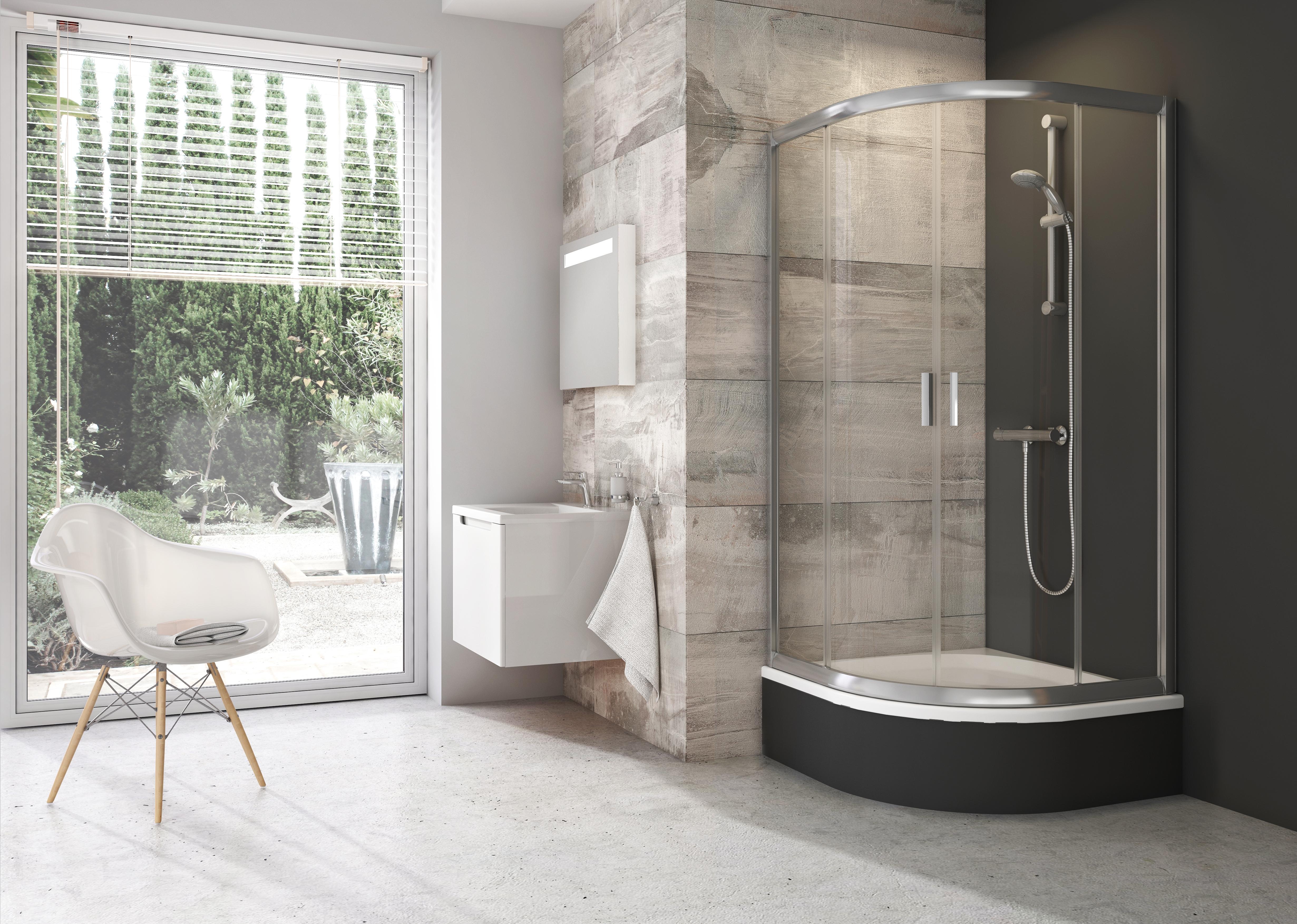 Ravak fürdőszoba zuhanykabin Blix 3