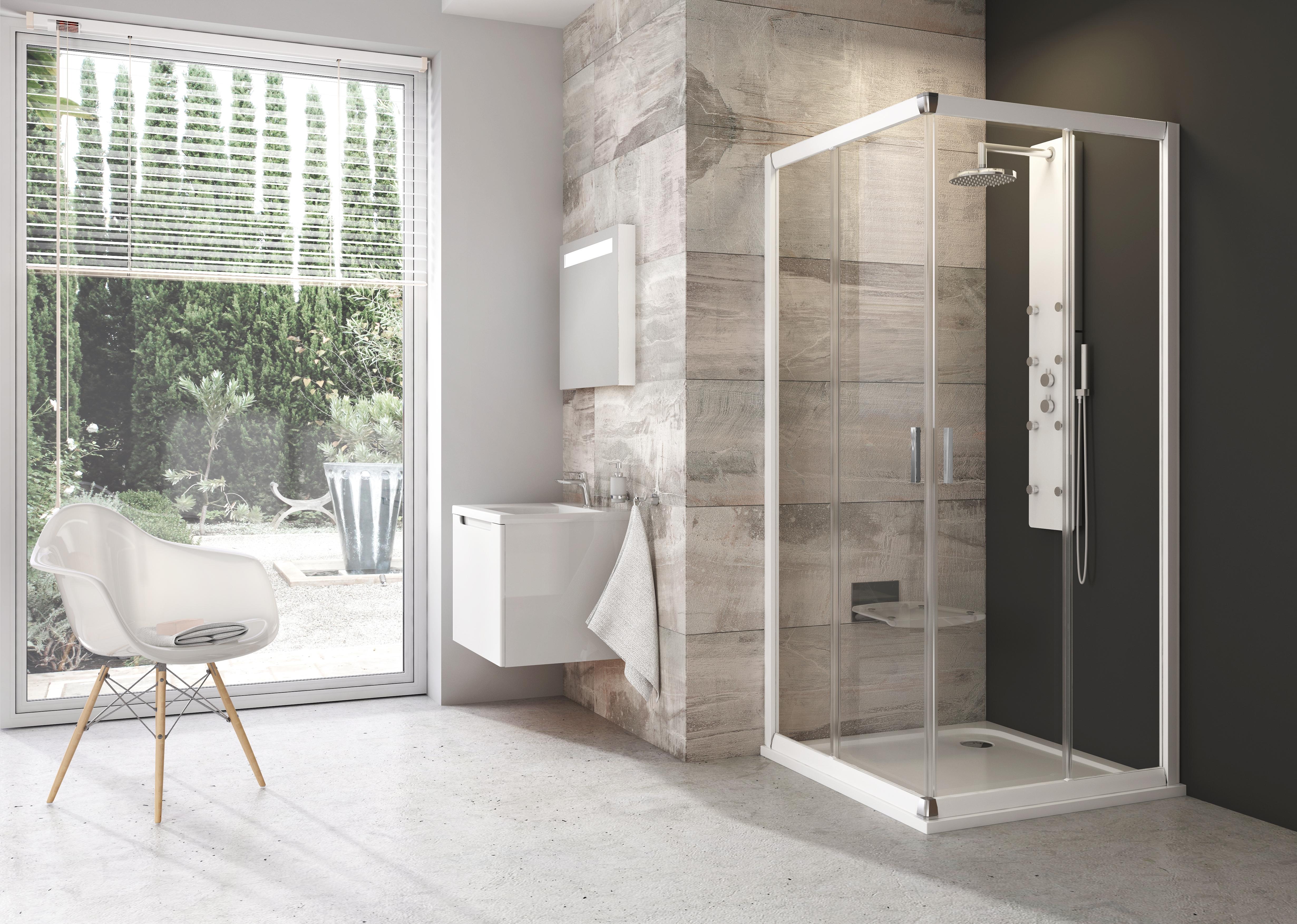 Ravak fürdőszoba zuhanykabin Blix 4